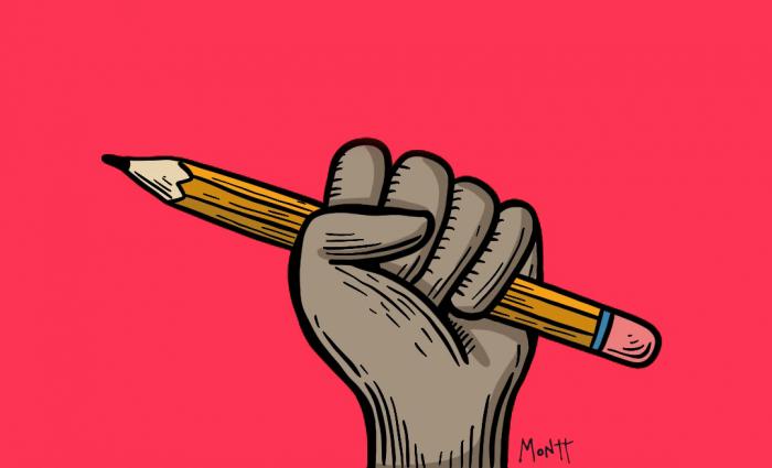 La Liga Contra el Silencio Ilustración: Montt